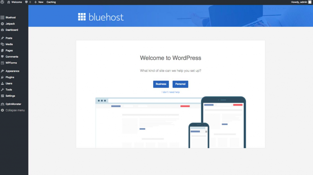 how to buy a domain name using bluehost