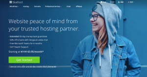 How to create a WordPress website on Bluehost