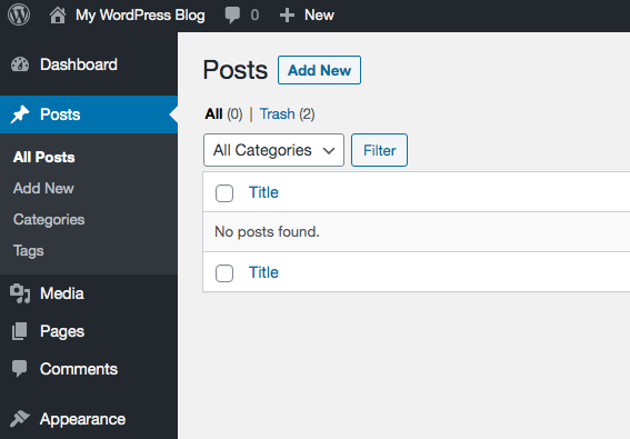 How to create a WordPress website for beginners