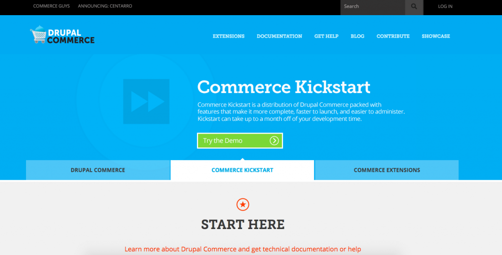 How to start an online store using drupal