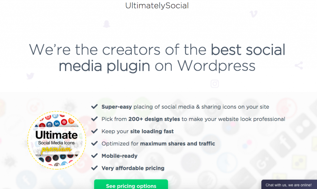 WordPress Plugins Social Media Share Icons