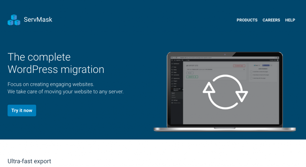 WordPress Plugins All in One WP Migration