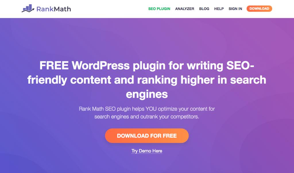 WordPress Plugin Rank Math