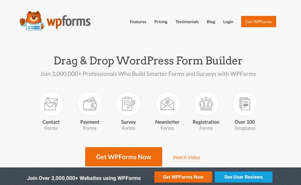 WordPress Plugin WP Forms