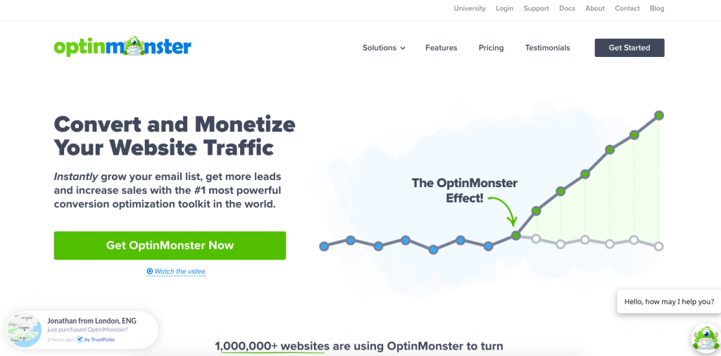 WordPress Plugins Optin Monster