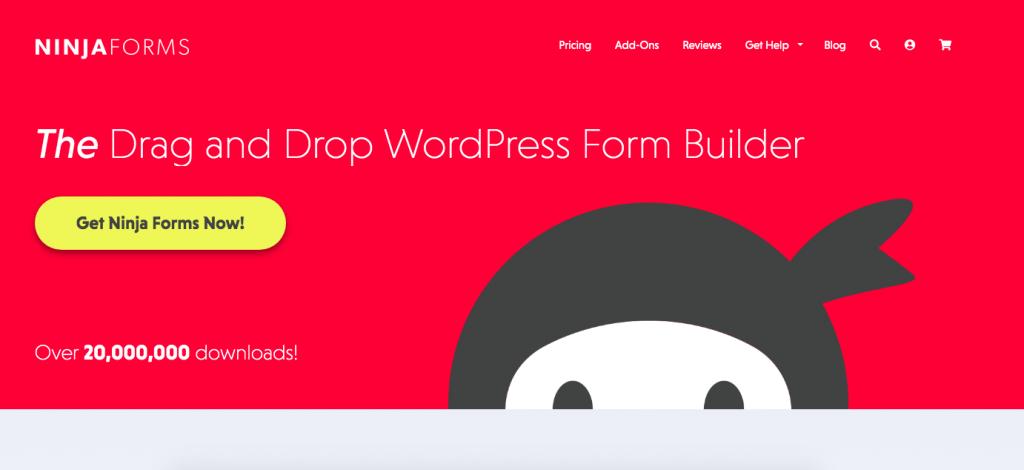 WordPress Plugins Ninja Forms