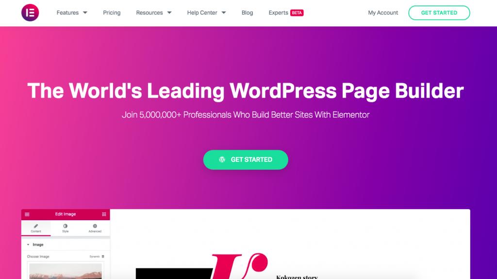 WordPress Plugins Elementor