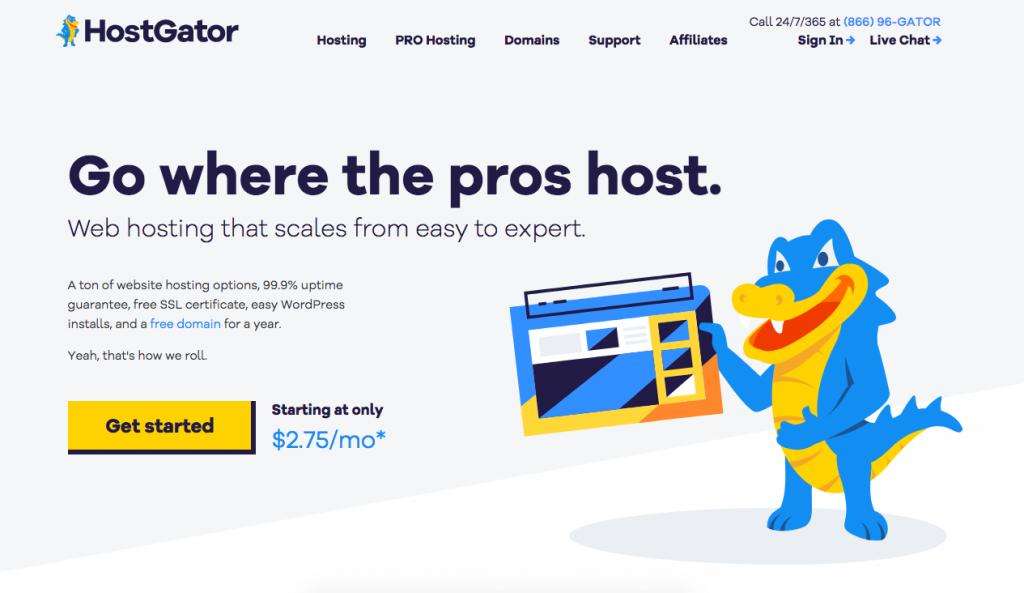 Domain and Hosting Hostgator