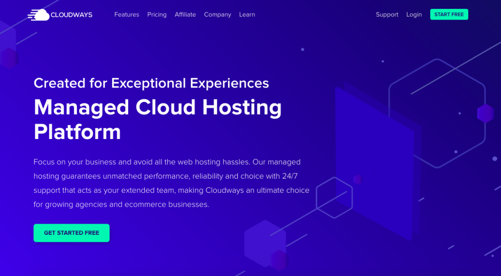 Domain and Hosting Cloudways