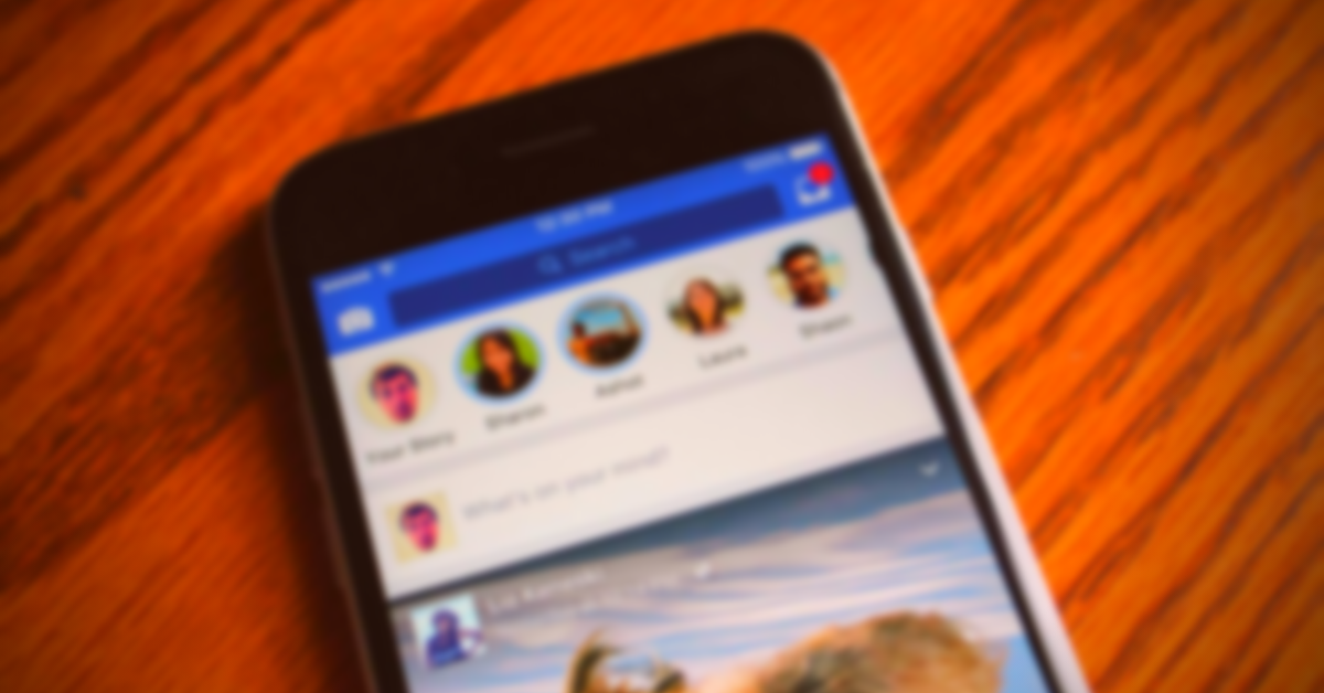 What are Social Media Facebook Stories