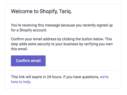 create an online store with shopify