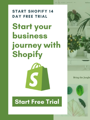 Start Free Trial With Shopify
