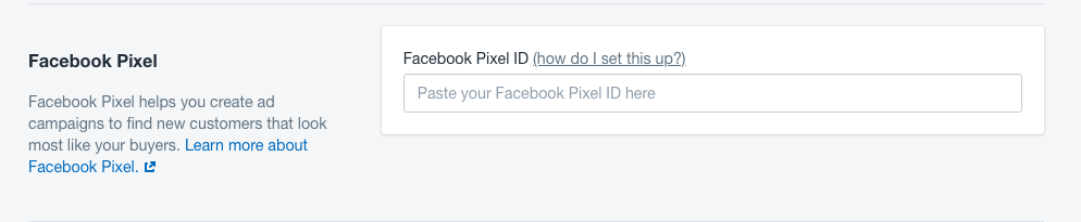 Facebook pixel in Shopify