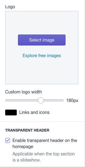 Change the logo in Shopify