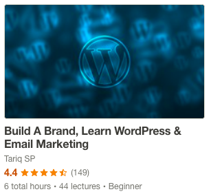Build A Brand, Learn WordPress and Email Marketing