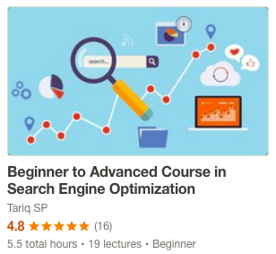 Search Engine Optimization Course for Beginners