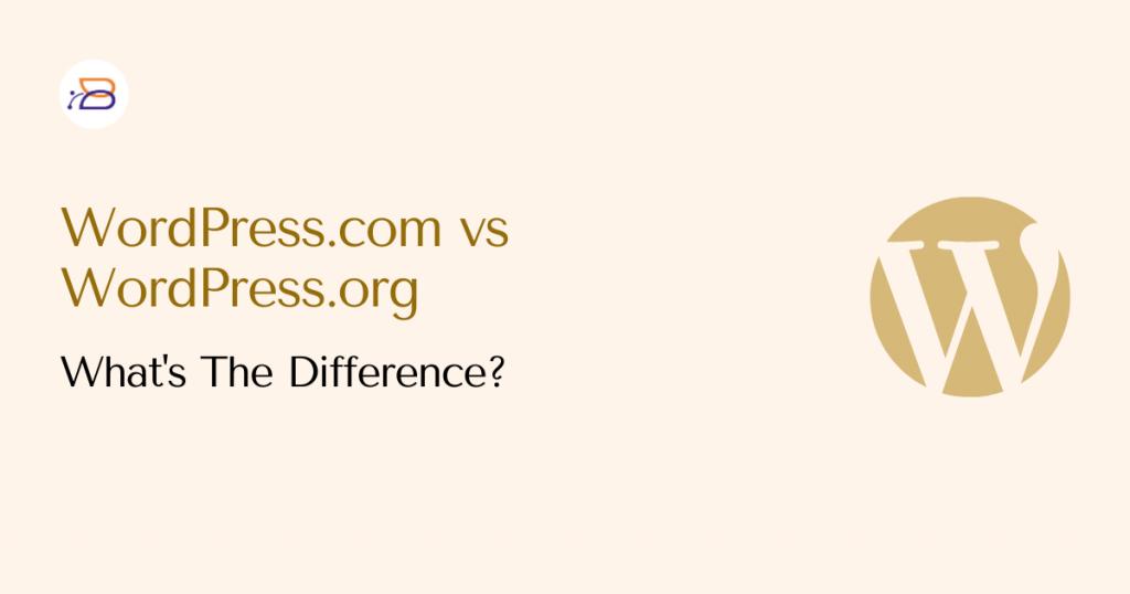 wordpress-com-vs-org