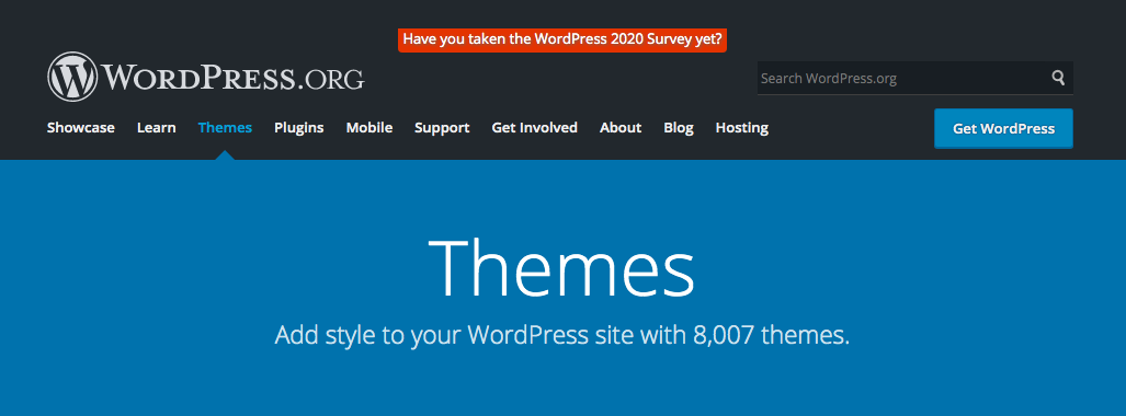 WordPress.org Themes and Plugins
